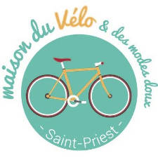logo maison du velo saint priest